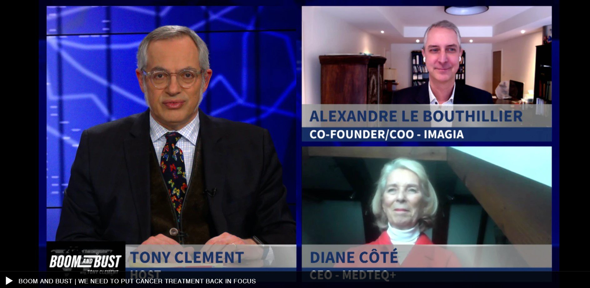BOOM and BUST with Tony Clement